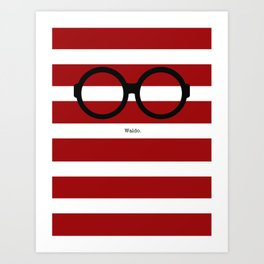 Where's Waldo Art Print