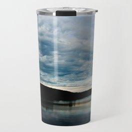 Fish-Eye Clouds 2 Travel Mug