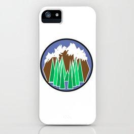 Mountain Getaway iPhone Case