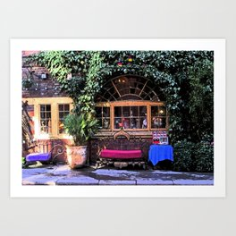 Drury Lane Restaurant Art Print