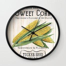 Organic Seeds 4 Wall Clock