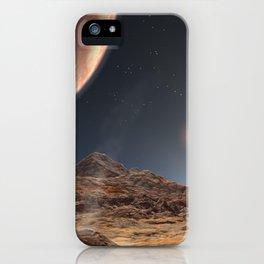 989. Land of Three Suns Artist Concept Animation iPhone Case