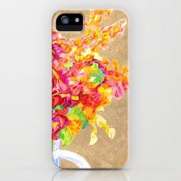 Golden Arrangements iPhone Case