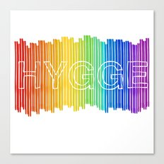 Hygge for All Canvas Print