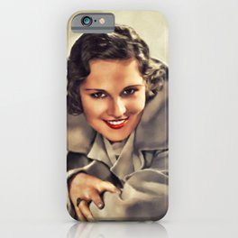 Boots Mallory, Actress iPhone Case