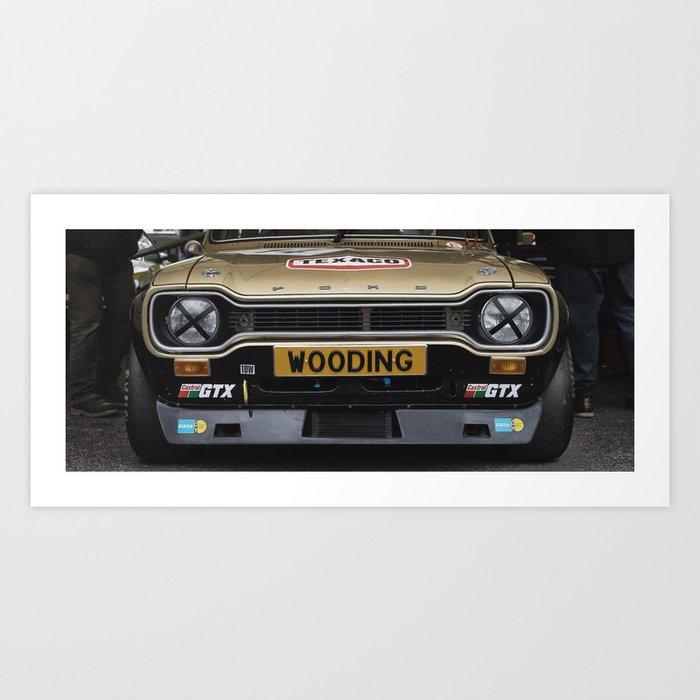 Ford Escort Art Print