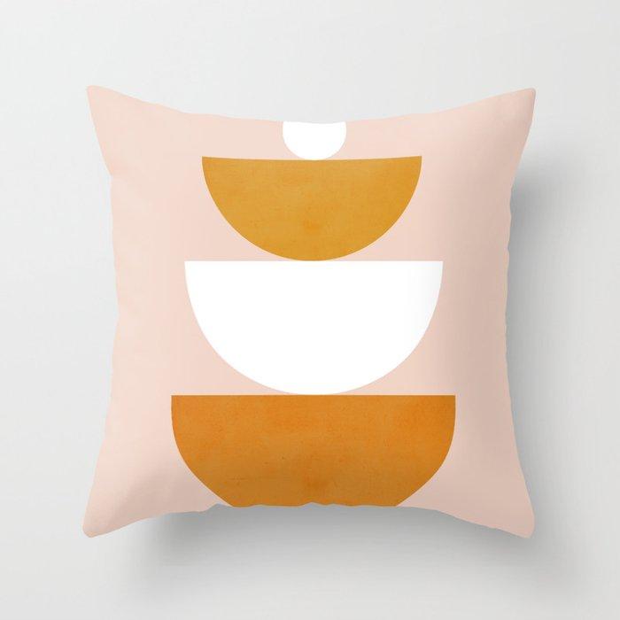 Abstraction_Balance_Minimalism_002 Throw Pillow