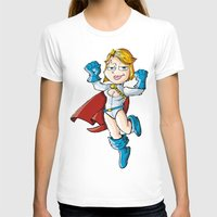 girl power T-shirts featuring Power Girl! by neicosta