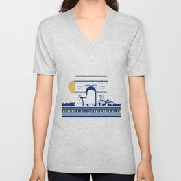 Paris - Roubaix Unisex V-Neck