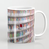 bookworm Mugs featuring Bookworm by Anabella Nolasco