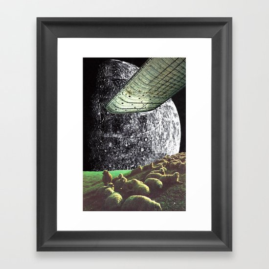 b23 Framed Art Print
