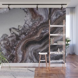Tiny Agate and crystals Wall Mural