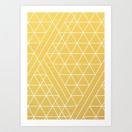 Golden Goddess Art Print