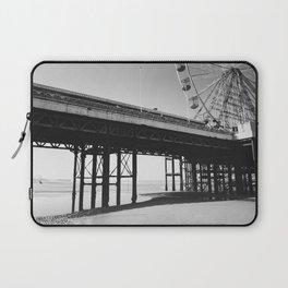 Blackpool Pier and big Wheel Laptop Sleeve