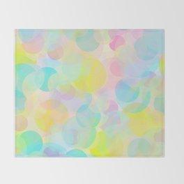 Bubble Days Throw Blanket