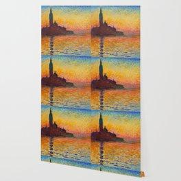 """Claude Monet """"San Giorgio Maggiore at Dusk"""" Wallpaper"""
