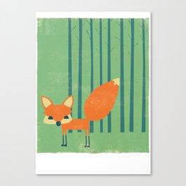 The little Fox Canvas Print