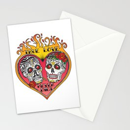 True Love Never Dies Stationery Cards