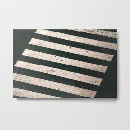 ROAD WORK Metal Print