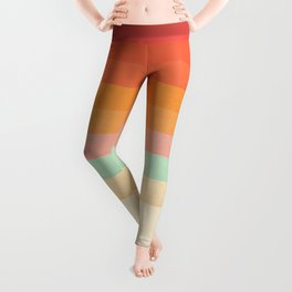 Rainbow Chevrons II Leggings
