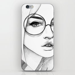 Gaze iPhone Skin