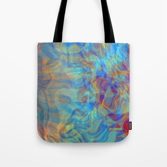 Like Fire and Ice Tote Bag