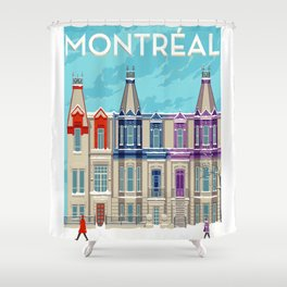 Montreal - Quebec - Canada Shower Curtain