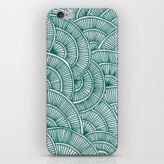 Swirls Green iPhone & iPod Skin
