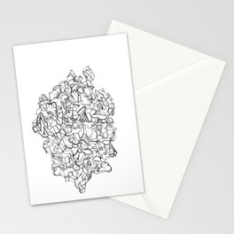 Pen & Ink Escher Puzzle Stationery Cards