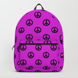 Peace in pink Backpack