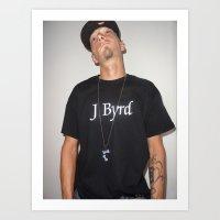 The Royal Byrd Art Print
