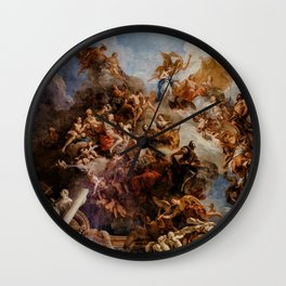 Palace of Versailles Mural - Michelangelo Wall Clock