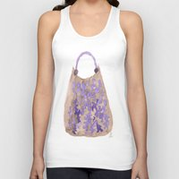 tote bag Tank Tops featuring Tote 1 by ©valourine