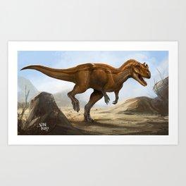 ceratosaurus Art Print
