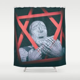 Post Modern Trappings Shower Curtain