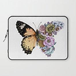 Butterfly in Bloom II Laptop Sleeve