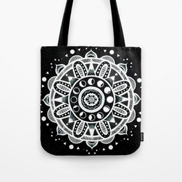 Moon Mandala - Inverted Tote Bag