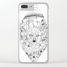 Demon Doll Clear iPhone Case