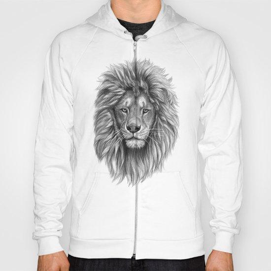 Lion-  portrait SK073 Hoody