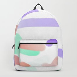 corolful art, a lot of colorfuls, simbolism, painting for young Backpack