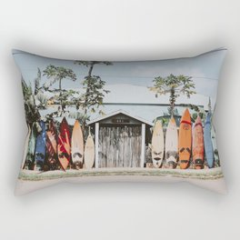 lets surf vi / maui, hawaii Rectangular Pillow