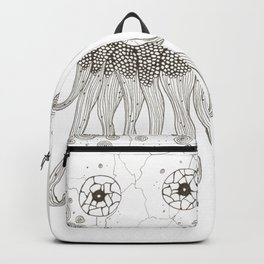 Cracked Octopus Backpack