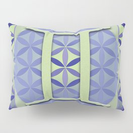 Flower of Life GEMINI Astrology Design Pillow Sham