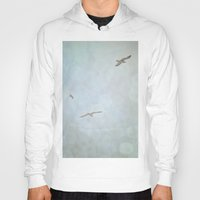 flight Hoodies featuring Flight by Pure Nature Photos