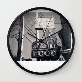 The Goof Spectra B&W Wall Clock