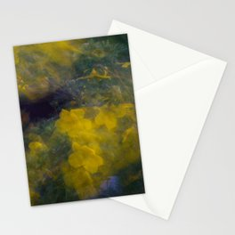 Colorful Flower Motion Stationery Cards
