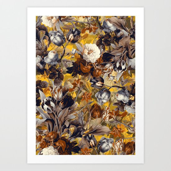 SUMMER BOTANICAL VII Art Print