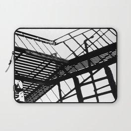 Escape in Black & White Laptop Sleeve
