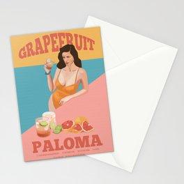 Grapefruit Paloma Stationery Cards