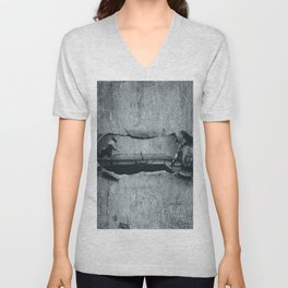 Ping Pong Abstract Unisex V-Neck